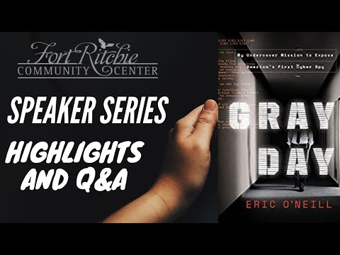 Highlights and Q&A - Eric O'Neill, Speaker Series (2020)