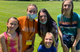 frcc summer campers and frcc camp counselor
