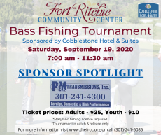 Fall Fishing Tournament Sponsor P&M Transmission
