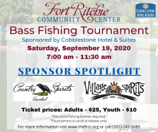 Fall Fishing Tournament Sponsor Country Spirits & Village Spirits