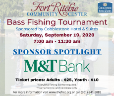 Fall Fishing Tournament Sponsor M&T Bank